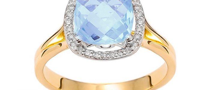 Istotne aspekty zakupu pierścionka zaręczynowego z niebieskim topazem