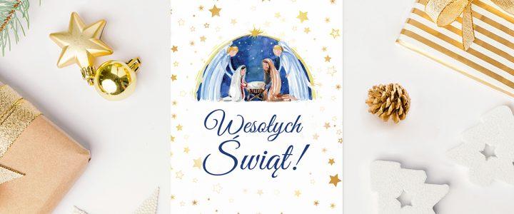 Modne kartki świąteczne